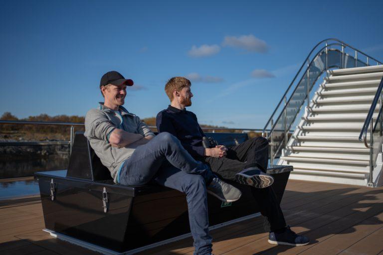 Silent Trollfjord Cruise. Foto: Bendik Skogli