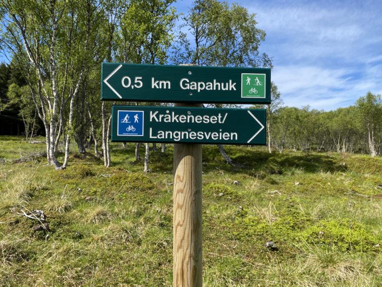 Kultursti. Foto: Jan-Erik Kristoffersen