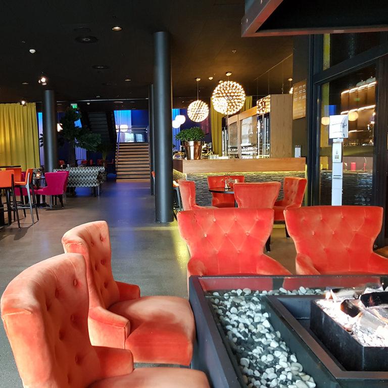 Lounge, Thon Hotel Lofoten. Foto: Thon Hotell