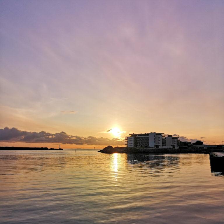 Utsikt fra uteservering. Foto: Thon Hotell Svolvær