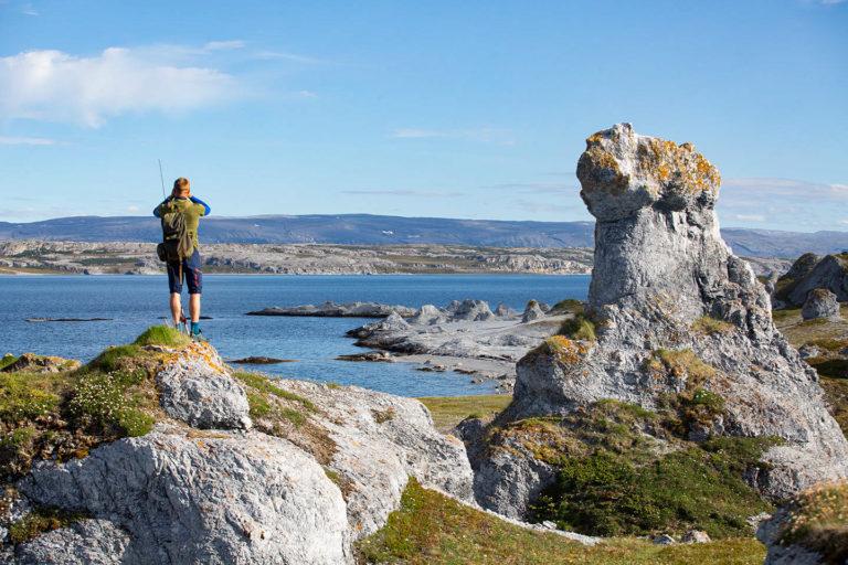 Trollholmsund. Foto: Stuenes Lodge