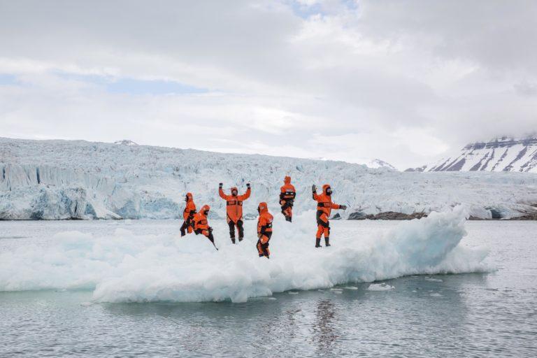 Båtsafari på Svalbard. Foto: VG
