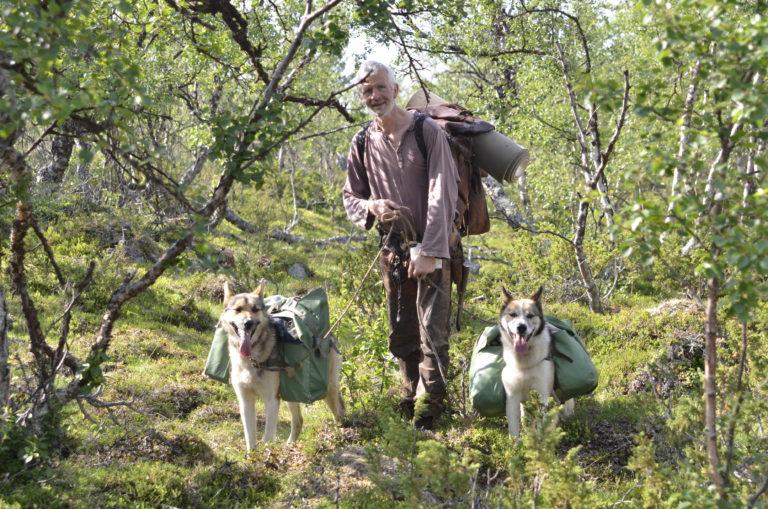 En annerledes familieflokk. Foto: Engholm Husky