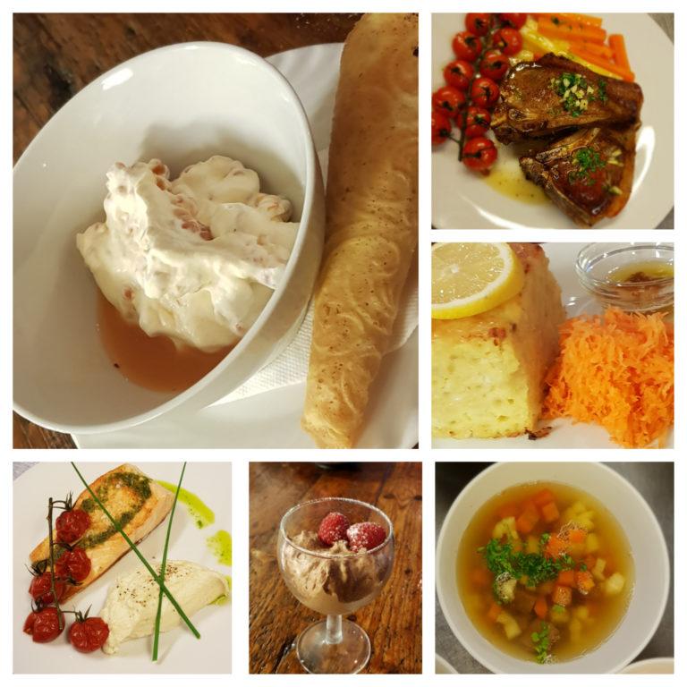 Vi tilbyr både frokost og middagsservering.. Foto: Marmelkroken