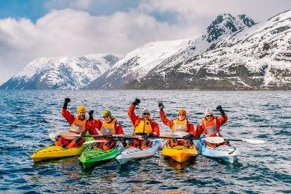 Kajakk. Foto: PNH Norway