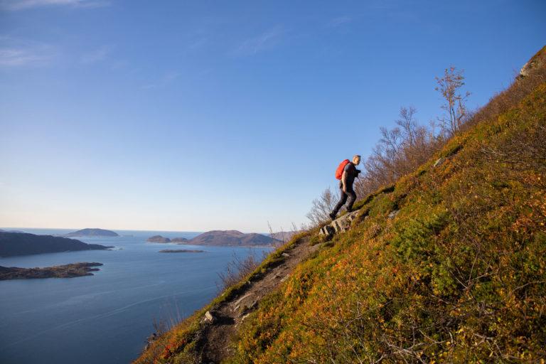 På vei opp til Vasstinden © Rasmus Ramstad  / Adventure Plan