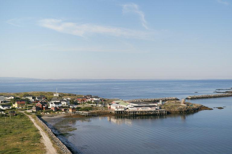 Bugøynes, the Varanger fjord and the Vadsø area on the other side © Emile Holba / www.visitvaranger.no