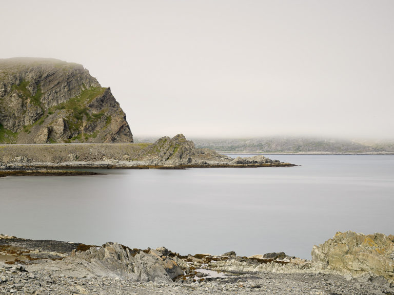 From the Arctic Road between Båtsfjord and Berlevåg, complete with morning mist © Emile Holba / www.visitvaranger.no