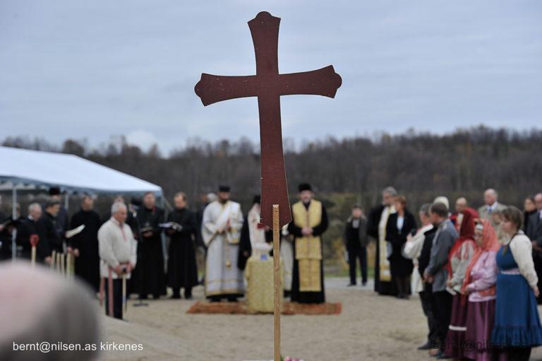 Man kan være heldig og komme borti ortodoks liturgi i Neiden. Prestene kommer fra den ortodokse kirken i Finland © Bernt Nilsen, Kirkenes