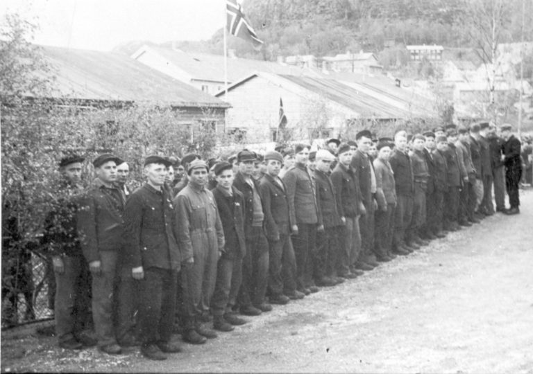 Fangene rett etter krigen © Sør-Troms Museum