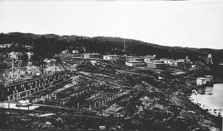 Kirkegården og leiren © Sør-Troms Museum