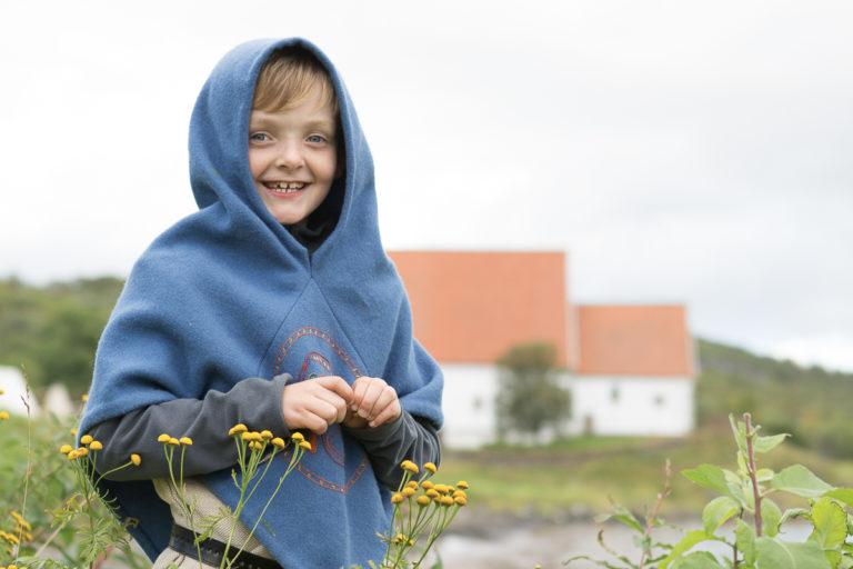 Ulf, den minste av barna på Allmenningr © Harriet M. Olsen/Sør-Troms museum